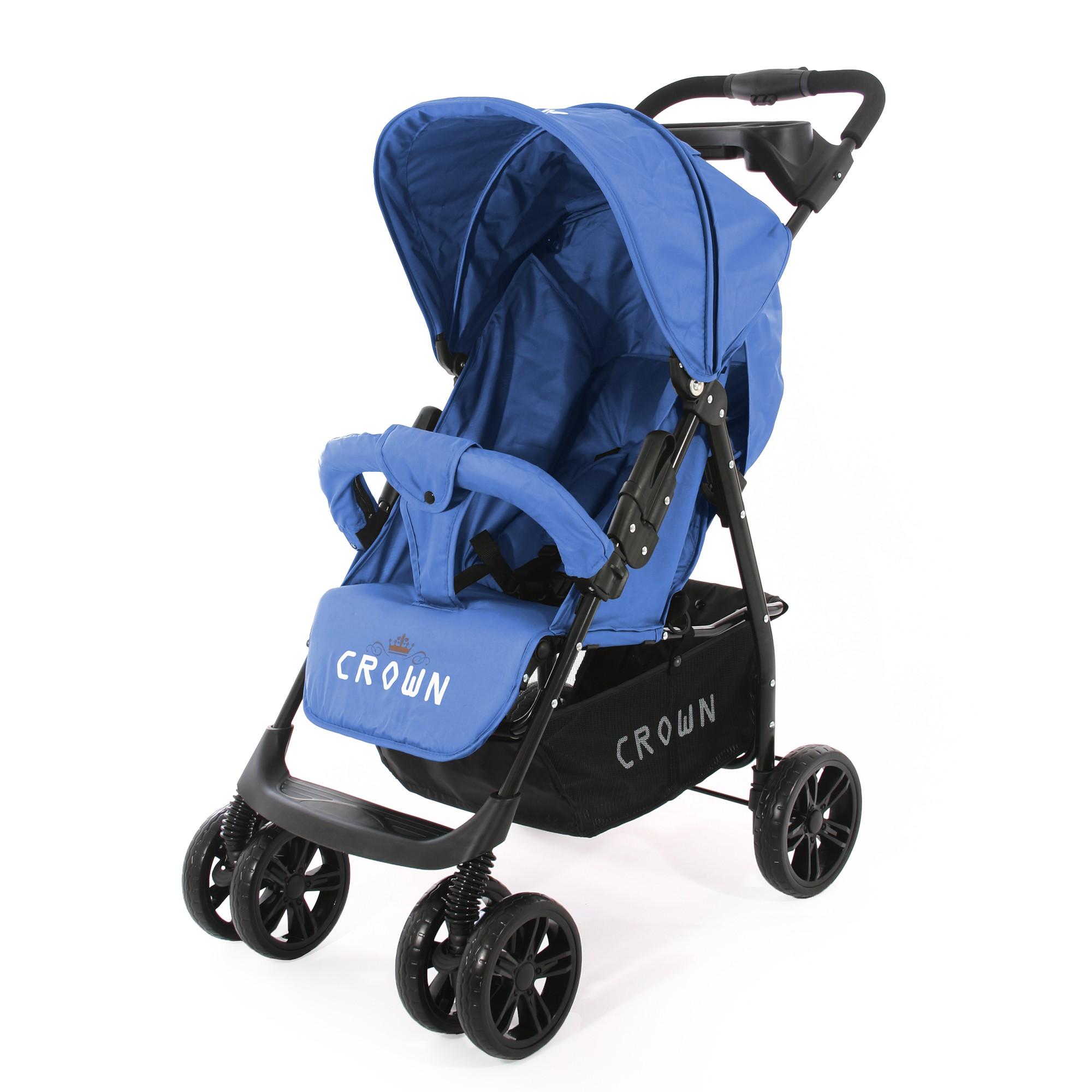 crown st570 kinderwagen sport buggy blau kinderwagen buggy. Black Bedroom Furniture Sets. Home Design Ideas