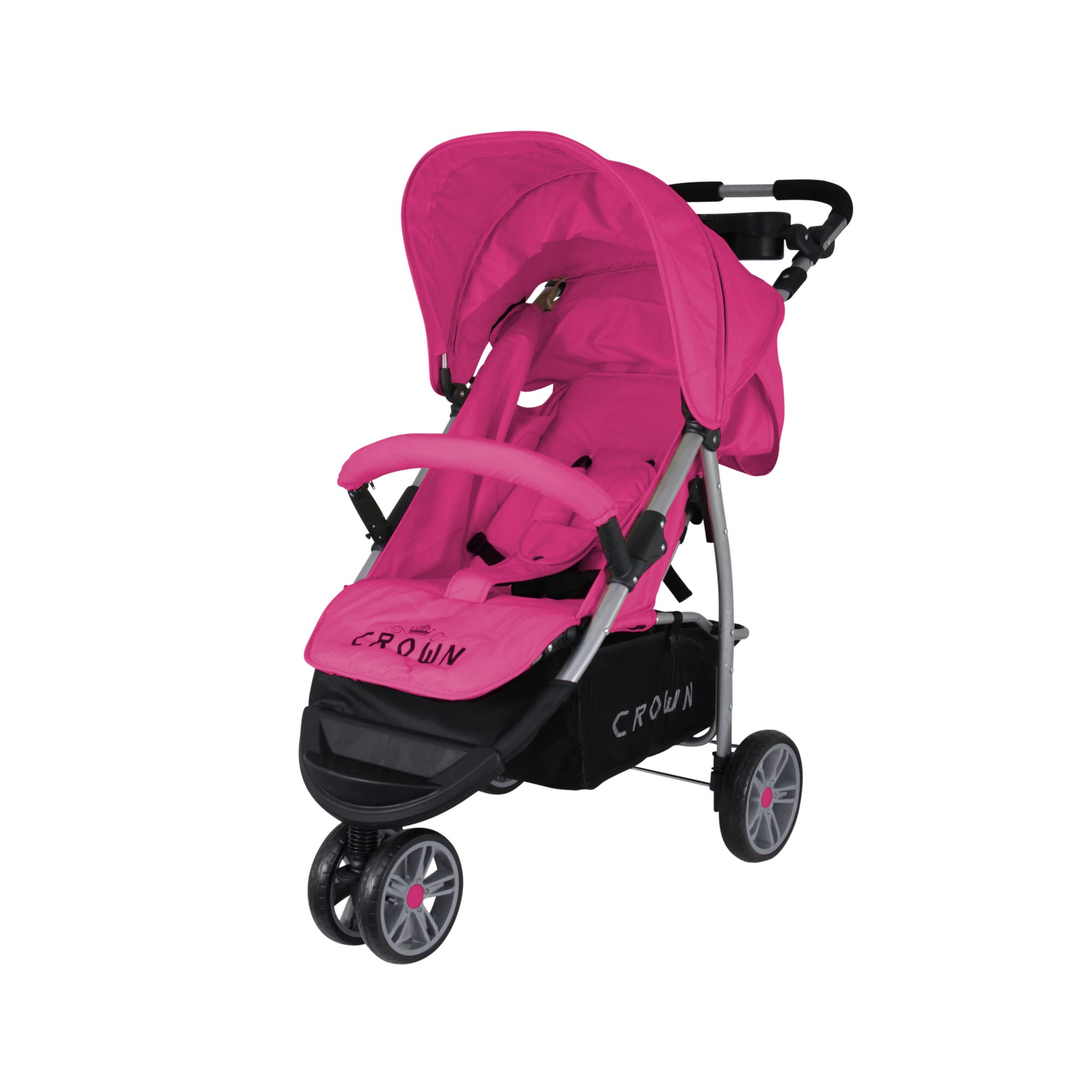 st712 crown kinderwagen buggy sport jogger farbe pink. Black Bedroom Furniture Sets. Home Design Ideas