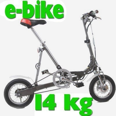 e bike elektrofahrrad klapprad pedelec ecycle nur 14kg ebay. Black Bedroom Furniture Sets. Home Design Ideas