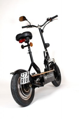 xxl revoluzzi e scooter strassenzulassung 20 km h helmfrei. Black Bedroom Furniture Sets. Home Design Ideas
