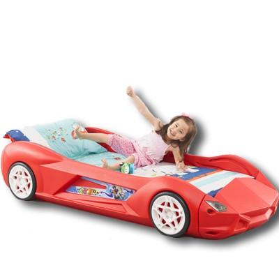 Lit enfant voiture de course roooaaarrrr voiture de course de lit design blanche adolescent ebay - Lit enfant voiture de course ...